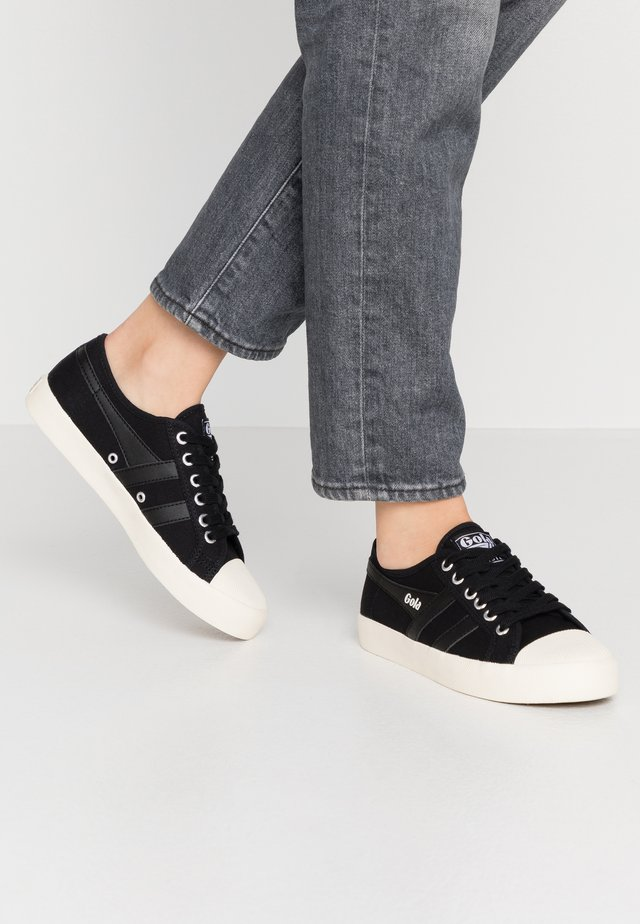 COASTER - Sneakers basse - black/offwhite