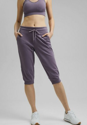 3/4 sports trousers - mauve