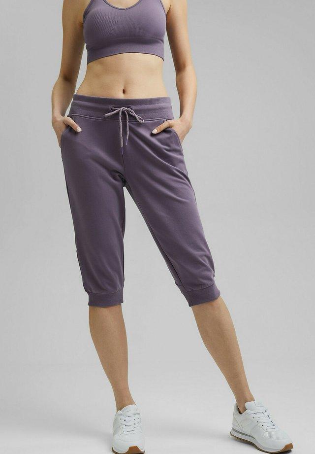 Pantalon 3/4 de sport - mauve