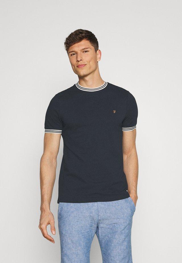 TEXAS TEE - T-shirt con stampa - true navy