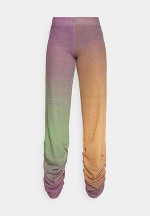 RUCHED HEM PRINTED JOGGERS - Kalhoty - multi