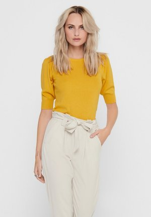 JDYBRIDGET - Basic T-shirt - yolk yellow