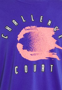 Nike Performance - TEE CHALLENGE - Long sleeved top - light concord - 2