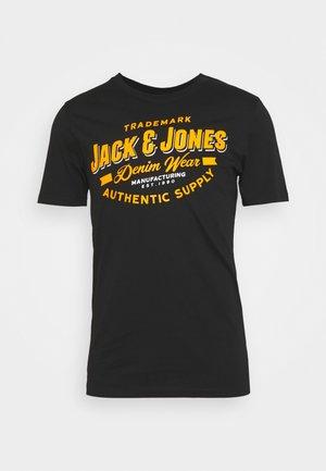 JELOGO - T-shirt con stampa - black