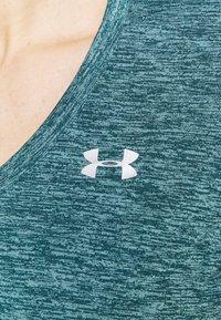 Under Armour - TECH TWIST - T-shirt sportiva - dark cyan - 5