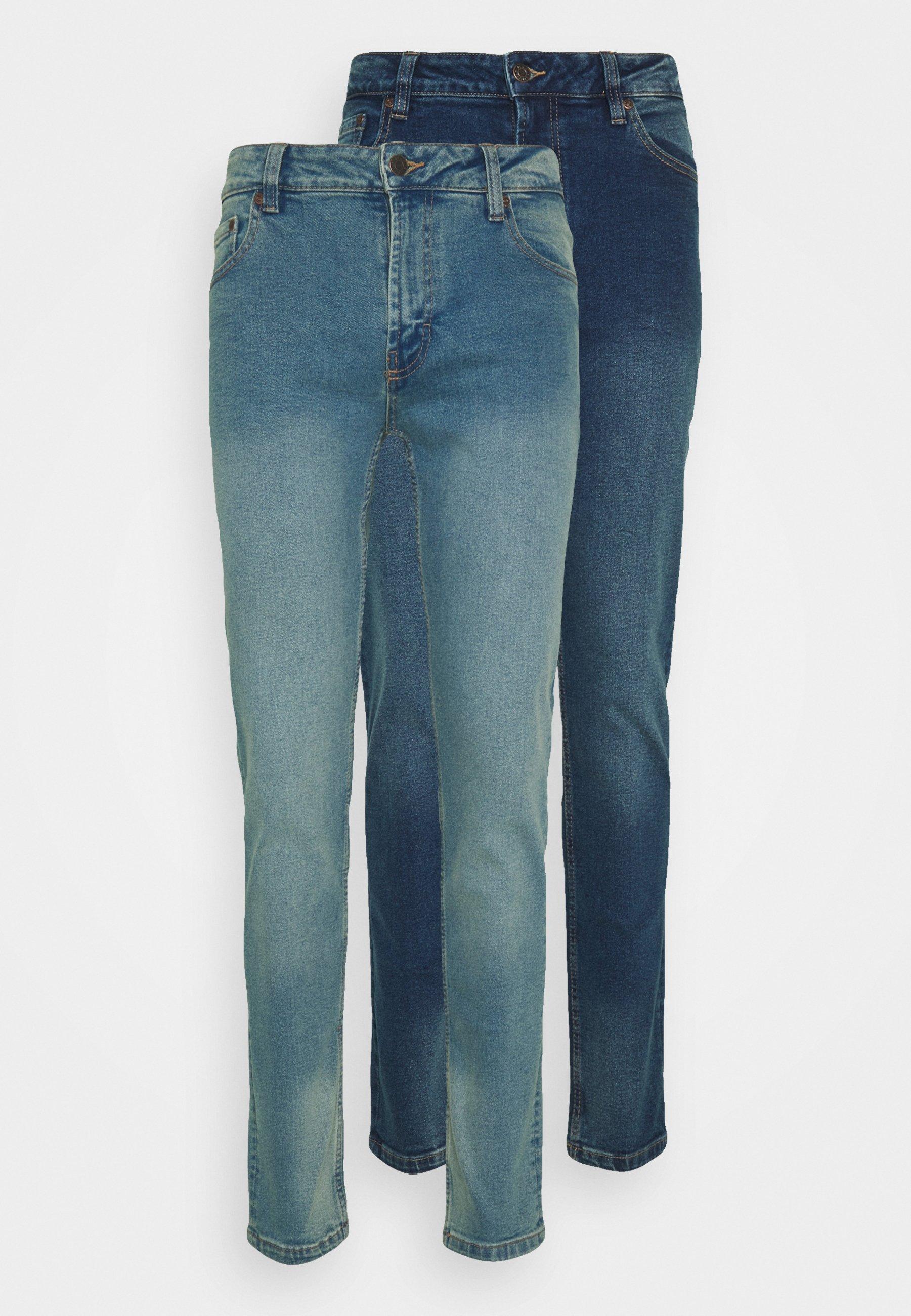 Men 2 PACK - Slim fit jeans