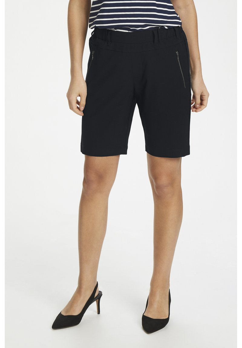Kaffe - KAJILLIAN VILJA - Shorts - black deep
