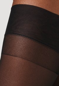 Bluebella - STOCKINGS PLAIN LEG - Bas - black - 2