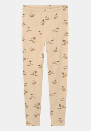 REYA  - Leggings - Trousers - beige/multi-coloured
