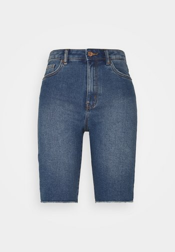 VMLOA FAITH - Denim shorts - medium blue denim