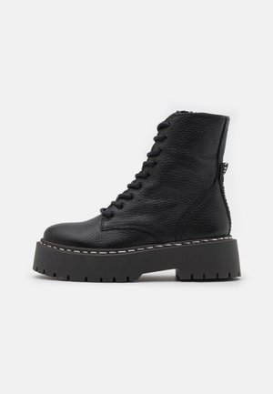 SKYLAR - Lace-up ankle boots - black