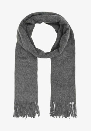 Sjaal - medium grey melange