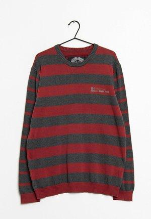 Stickad tröja - grey