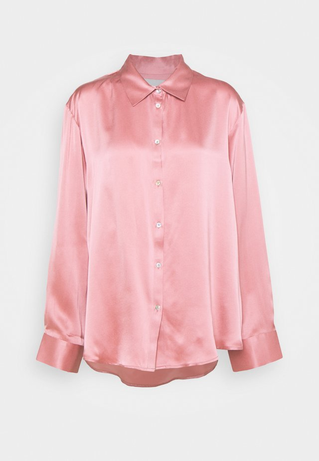 THE LONDON - Pyjamashirt - dusty rose