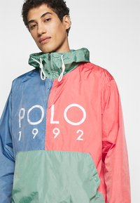 Polo Ralph Lauren - COLOR BLOCK - Windbreaker - green/blue - 3