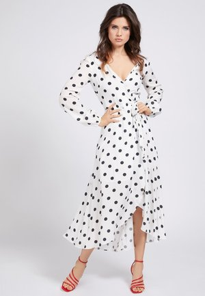 Vestido informal - mehrfarbig, weiß