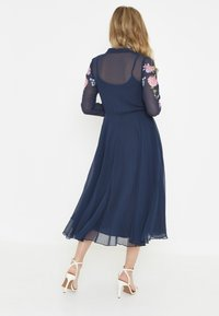 BEAUUT - Shirt dress - navy - 2