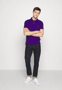 Polo Ralph Lauren - SLIM FIT MESH POLO SHIRT - Polotričko - chalet purple - 1