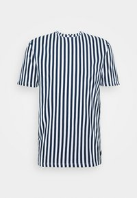 ROSS - Print T-shirt - navy
