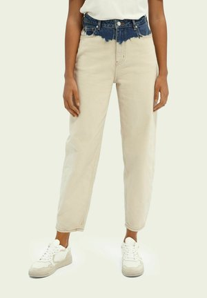 BALLOON LEG - Relaxed fit jeans - tie dye sand