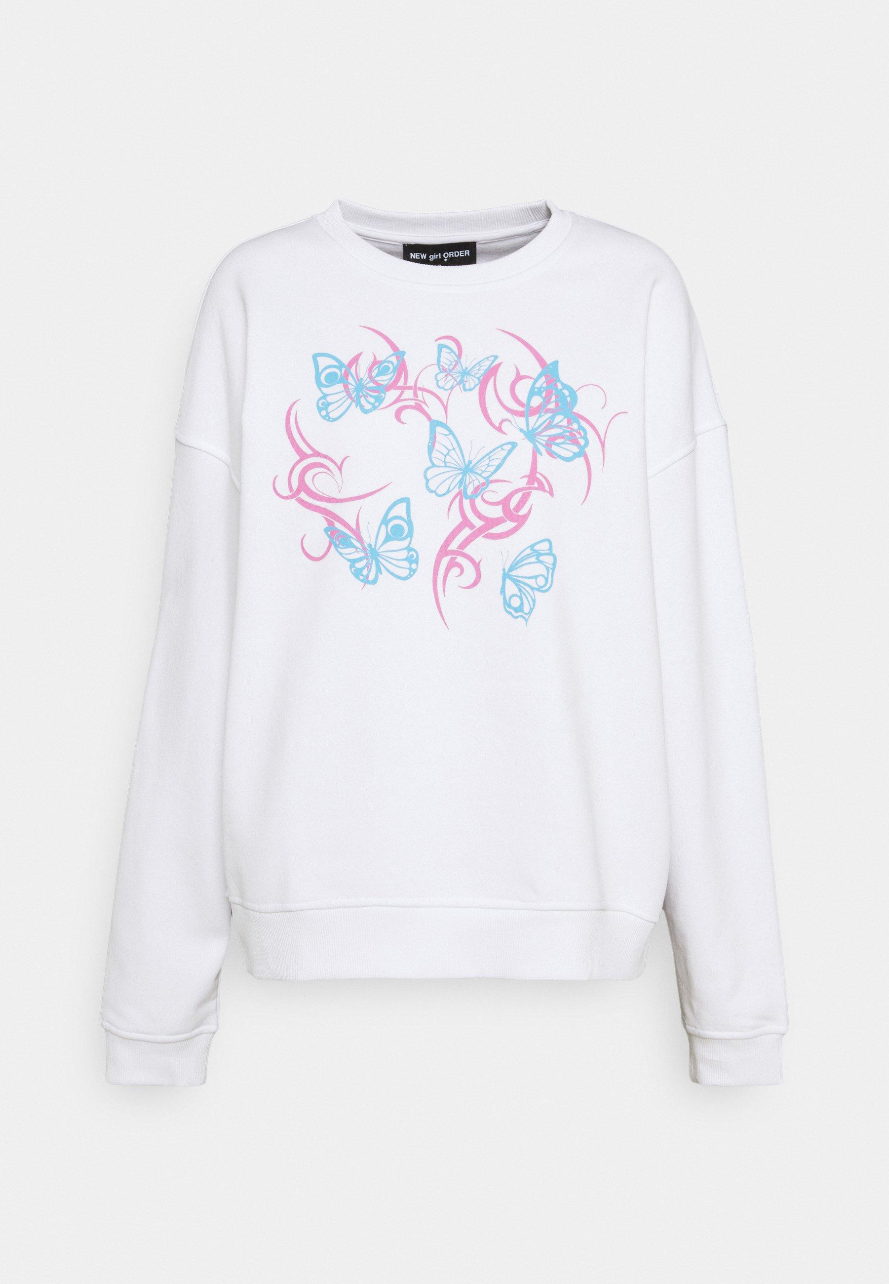 Women FLURO BUTTERFLY - Sweatshirt