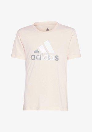 G A.R. GLAM TEE - T-shirt z nadrukiem - pnktin/silvmt
