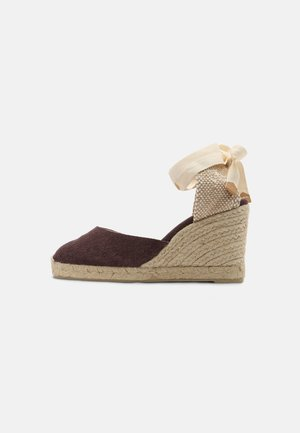 CARINA  - High heeled sandals - mokka