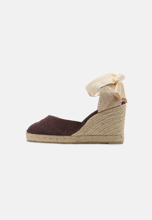CARINA  - Sandalen met hoge hak - mokka