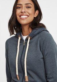 Oxmo - MATILDA - Zip-up hoodie - ins bl mel - 3
