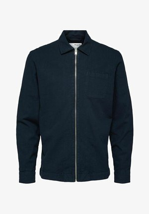 Summer jacket - navy blazer