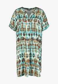 Samoon - Day dress - cameo blue gemustert - 4