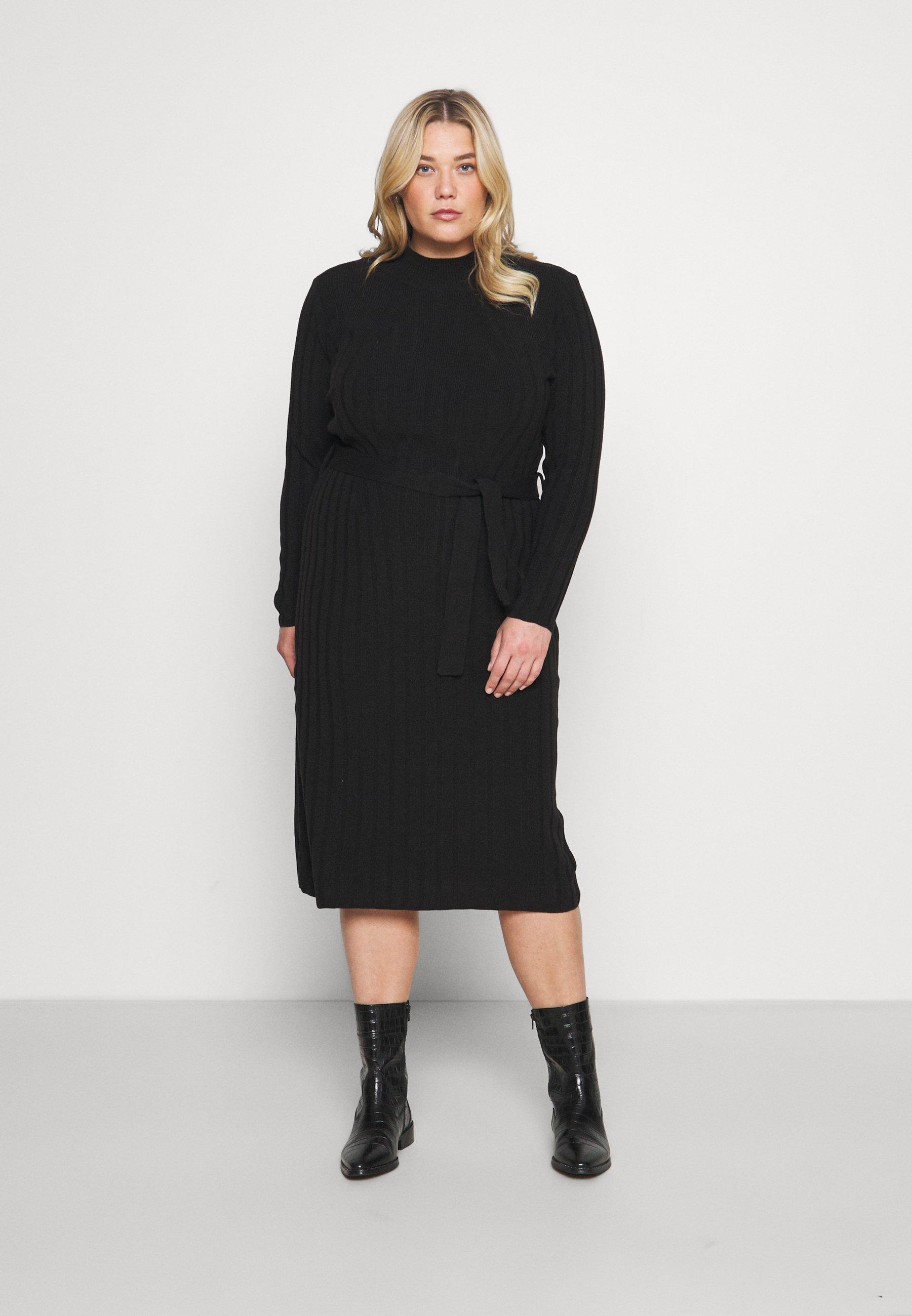 Mujer CARNEW TESSA O NECK DRESS - Vestido de punto