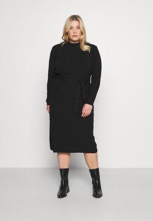 CARNEW TESSA O NECK DRESS - Jumper dress - black