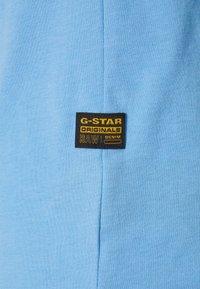 G-Star - BASE-S V T S\S - T-shirt basic - compact jersey o - delta blue - 2