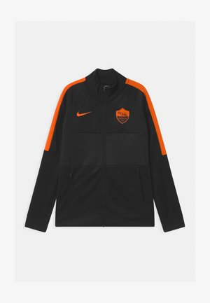 AS ROM UNISEX - Club wear - black/safety orange