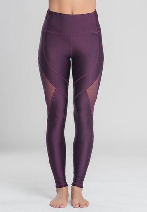 INSTINCT - Leggings - Trousers - plum