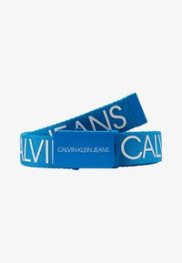 Calvin Klein Jeans - LOGO BELT - Cinturón - blue - 1