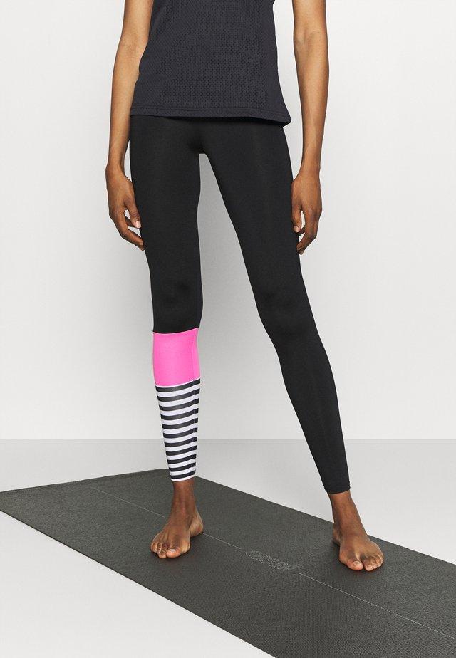 LEGGINGS SURF STYLE - Legging - neon pink/black