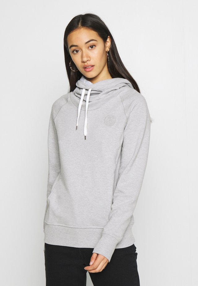 Sweat à capuche - grey melange