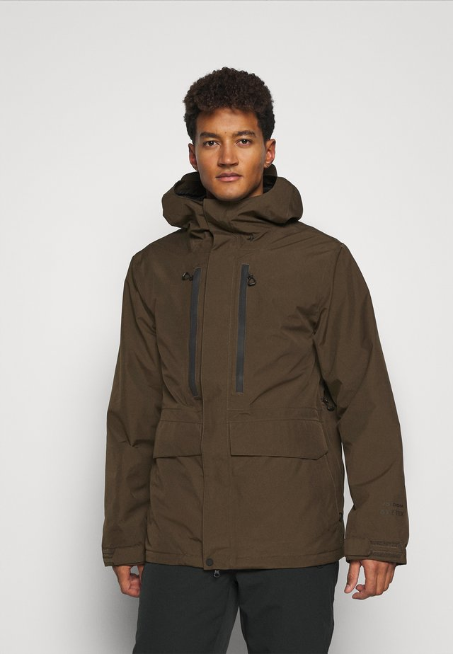 TEN INS GORE TEX  - Snowboardová bunda - military