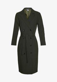 Dorothy Perkins Tall - LONG SLEEVE TRENCH DRESS - Robe d'été - khaki - 2