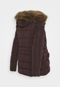 New Look Maternity - MEGAN FITTED PUFFER - Zimní bunda - dark burgundy - 1