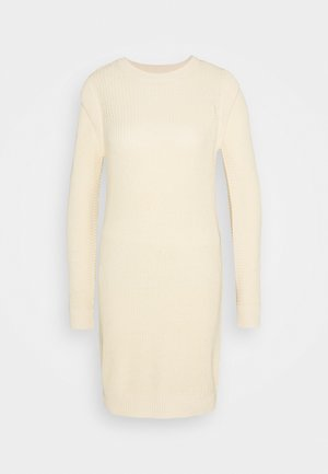 NMKAJA DRESS - Jumper dress - ecru