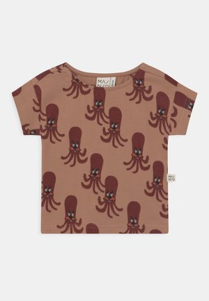 OCTOPUS UNISEX - T-shirt con stampa - camel