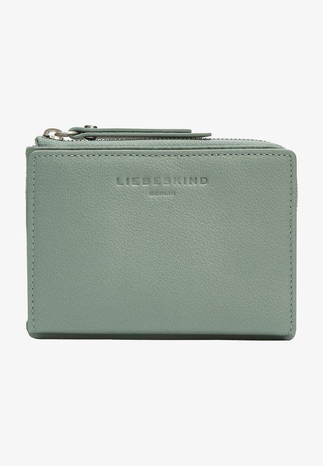Wallet - minty green