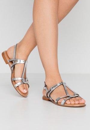 HACKLE - Sandals - argent