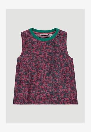 SUMMER - Blouse - pink aop w/ green
