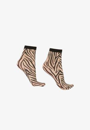 Socks - zebrato silk/nero