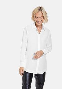 Gerry Weber - Button-down blouse - sahne - 0