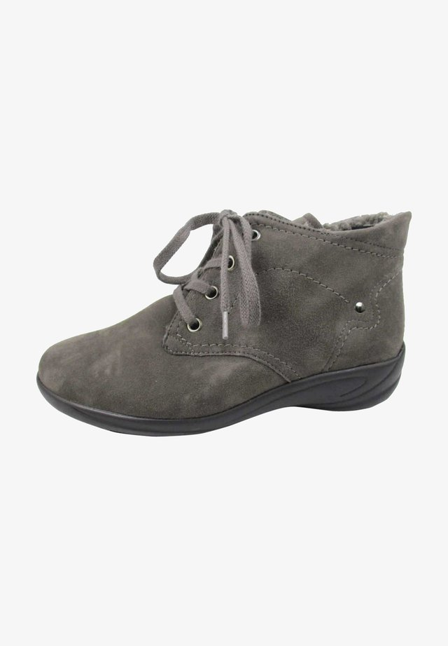 Lace-up ankle boots - fango
